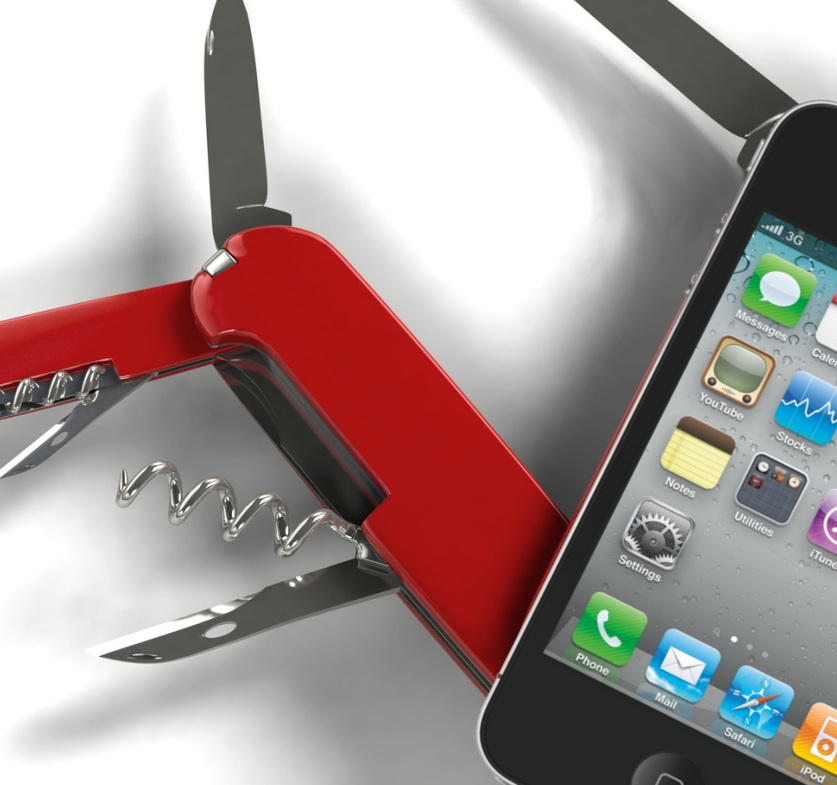 couteau suisse smartphone