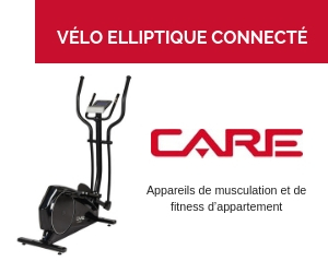 Le vélo elliptique Care Fitness